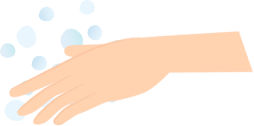 手浴の方法